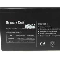 Akkumulátor AGM Green Cell...